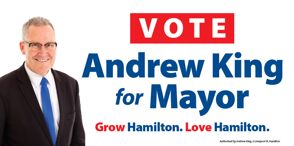 Vote Andrew King for Mayor